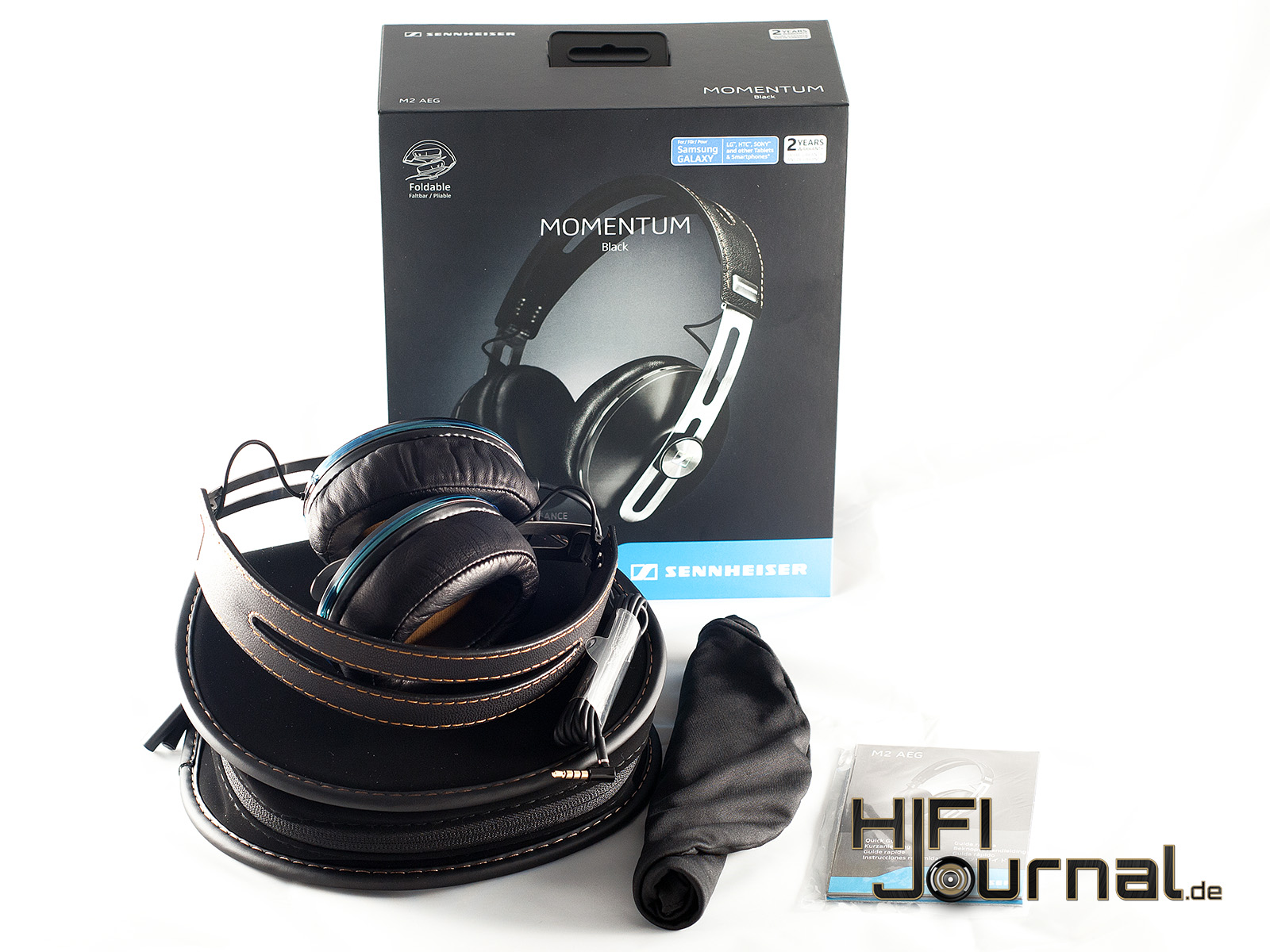 Test Sennheiser Momentum Over Ear M2 Hifi Journal 2i Black 1k 2k