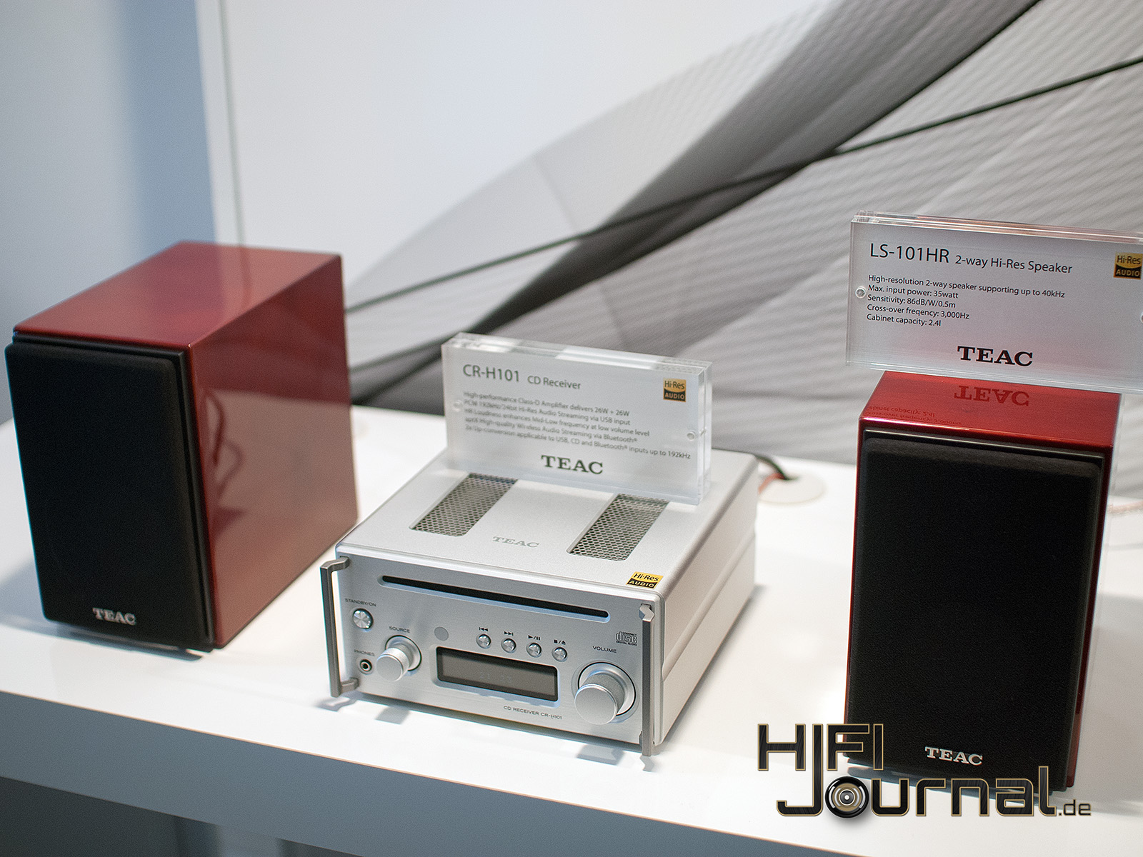 High End 2016: TEAC Mini-HiFi-System CR-H101 - HiFi-Journal