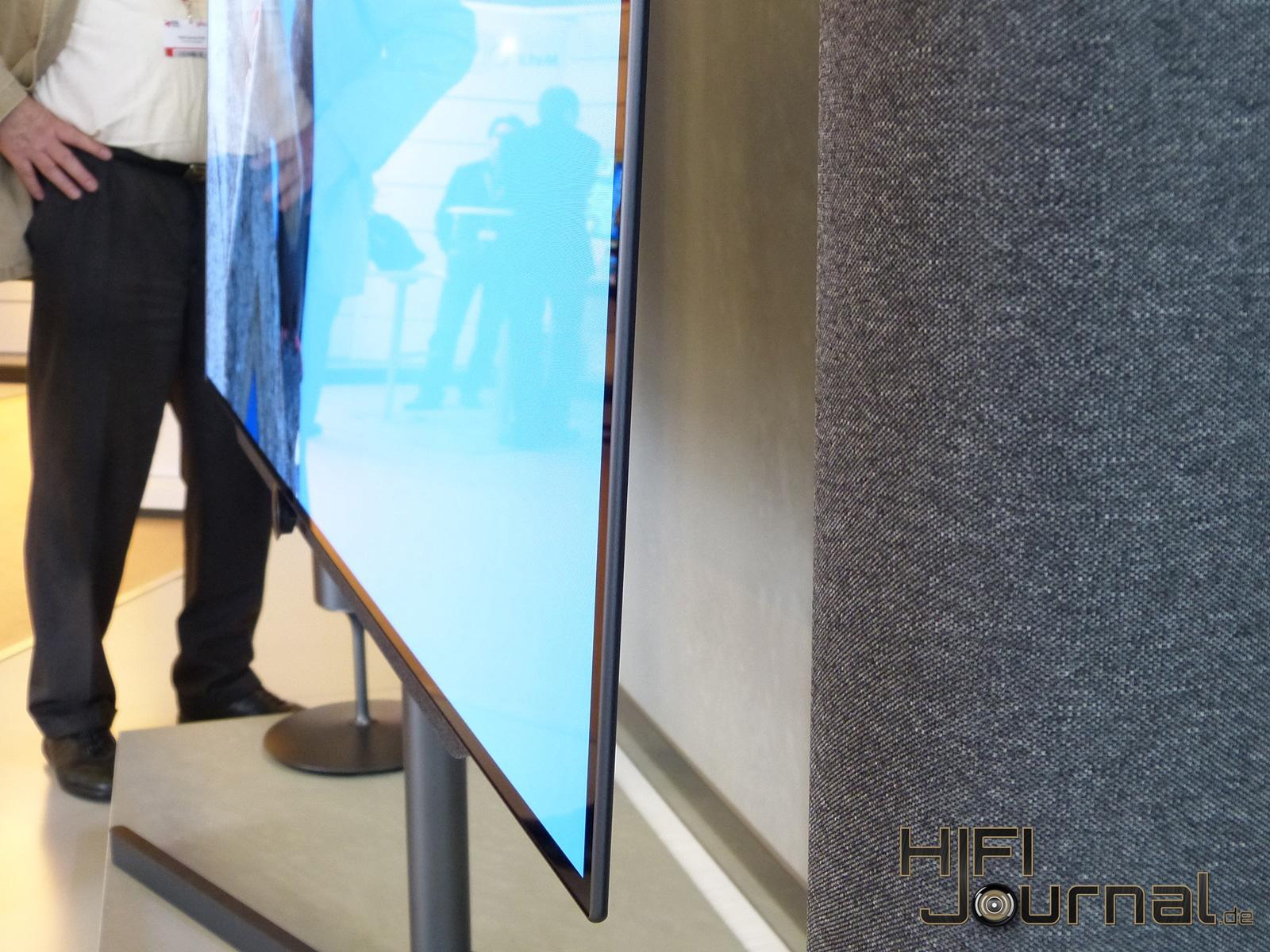 Lcd Fernseher Verkleidung : massiver Standfu? mit wiederstandsf?higer Anthrazitbeschichtung