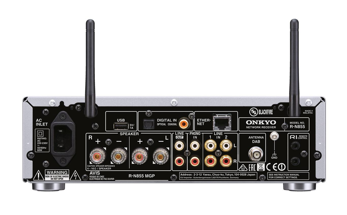 Onkyo R N855 Receiver und C 755 CD Spieler HiFi Journal 759d73911d