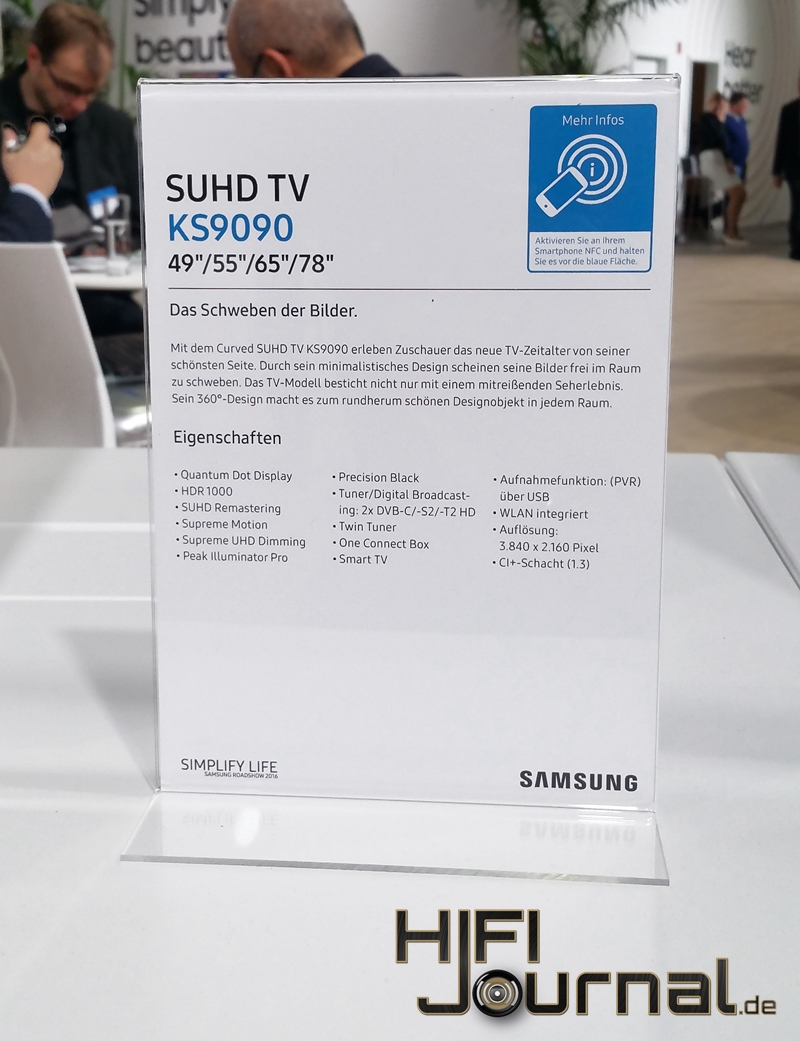 Samsung SUHD TV KS9090 119