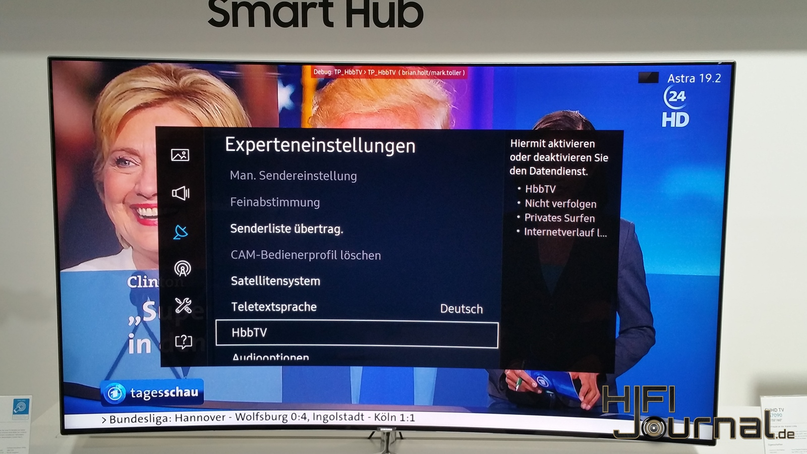 Samsung SUHD TV KS9090 8