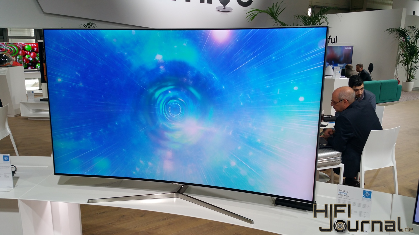 samsung suhd tv ks9090 im hands on hifi journal. Black Bedroom Furniture Sets. Home Design Ideas
