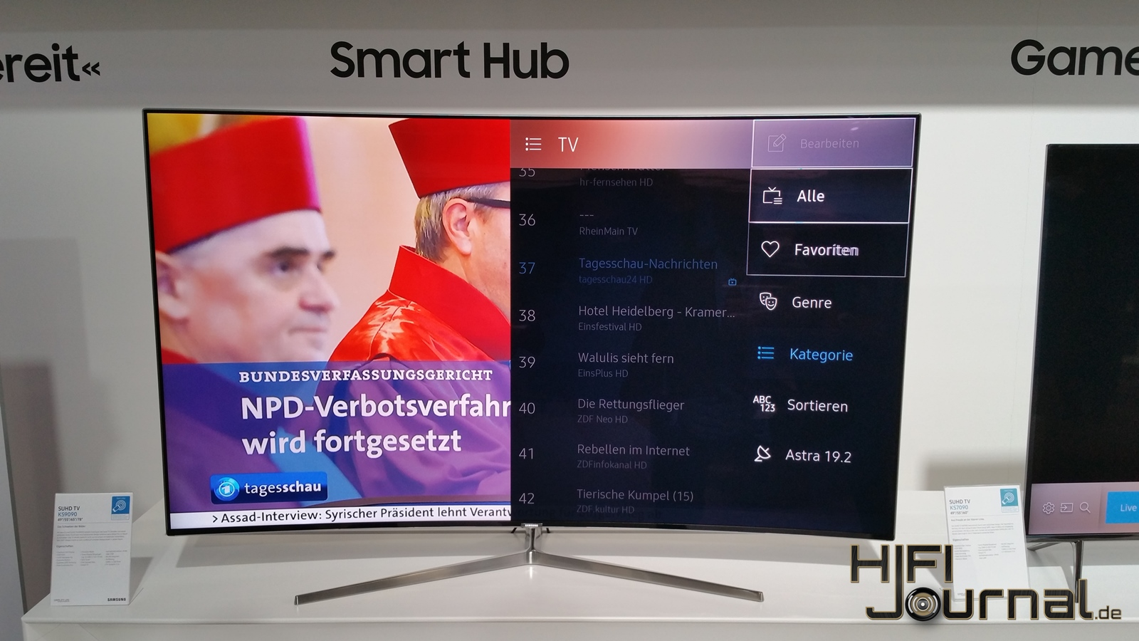 Samsung SUHD TV KS9090 4