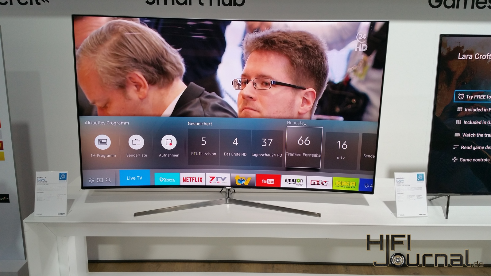 Samsung SUHD TV KS9090 5