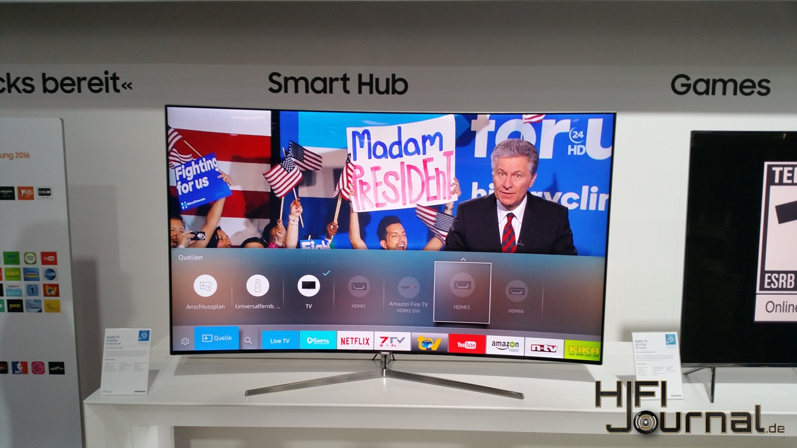 Samsung SUHD TV KS9090 6