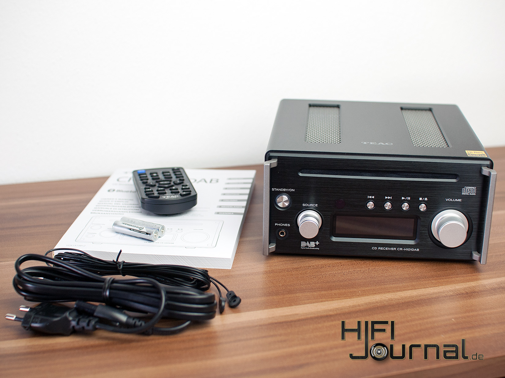 Test: TEAC CR-H101DAB - HiFi-Journal