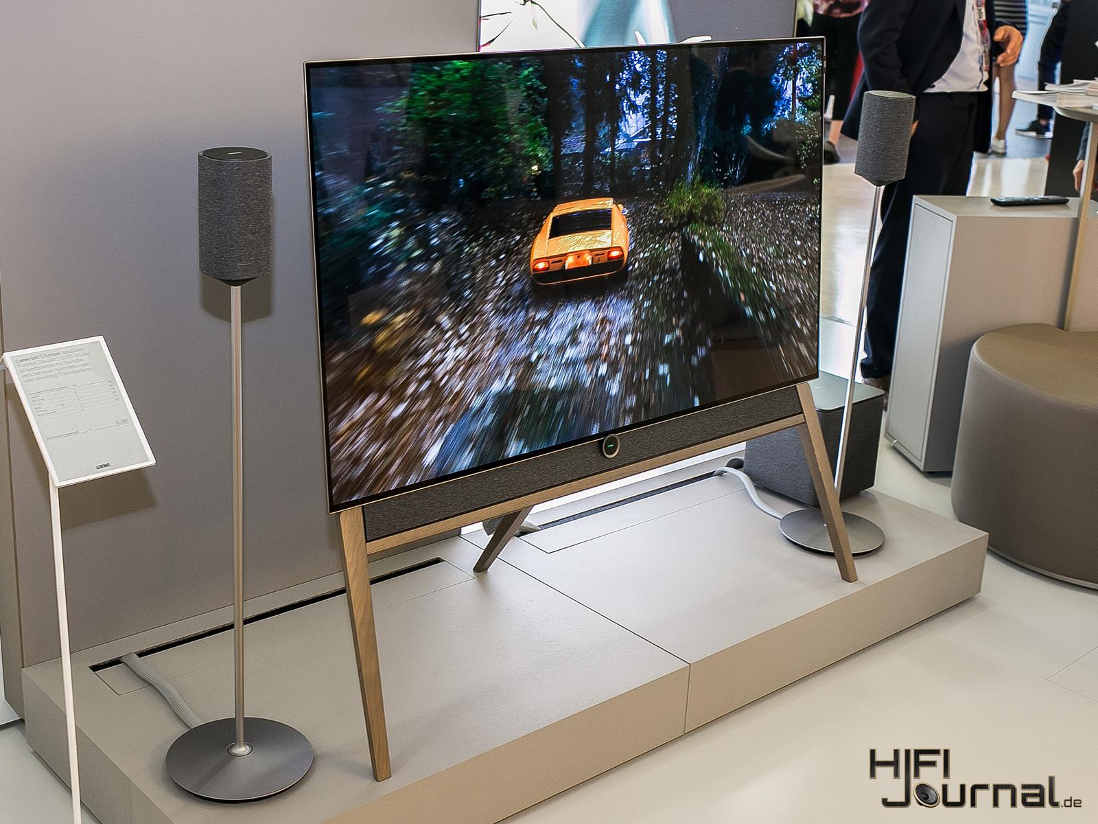 loewe bild 5 oled hands on video hifi journal. Black Bedroom Furniture Sets. Home Design Ideas
