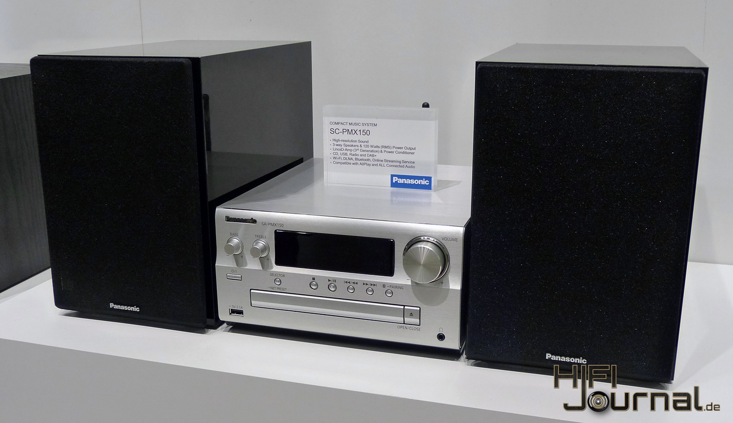 Panasonic Sc Pmx152 Micro Hifi Anlage Hifi Journal