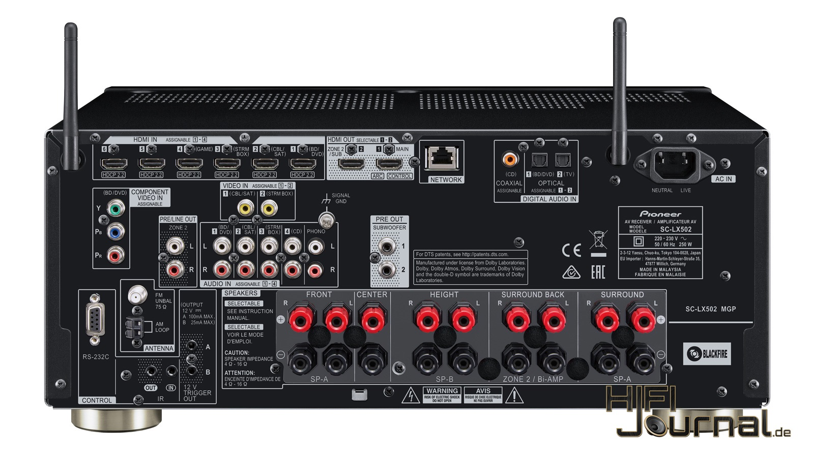 Pioneer SC-LX502 7.2 AV-Receiver - HiFi-Journal