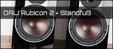 Test: DALI Rubicon 2 & Connect M-600 Standfuß