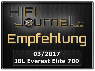 JBL Everest Elite 700 award