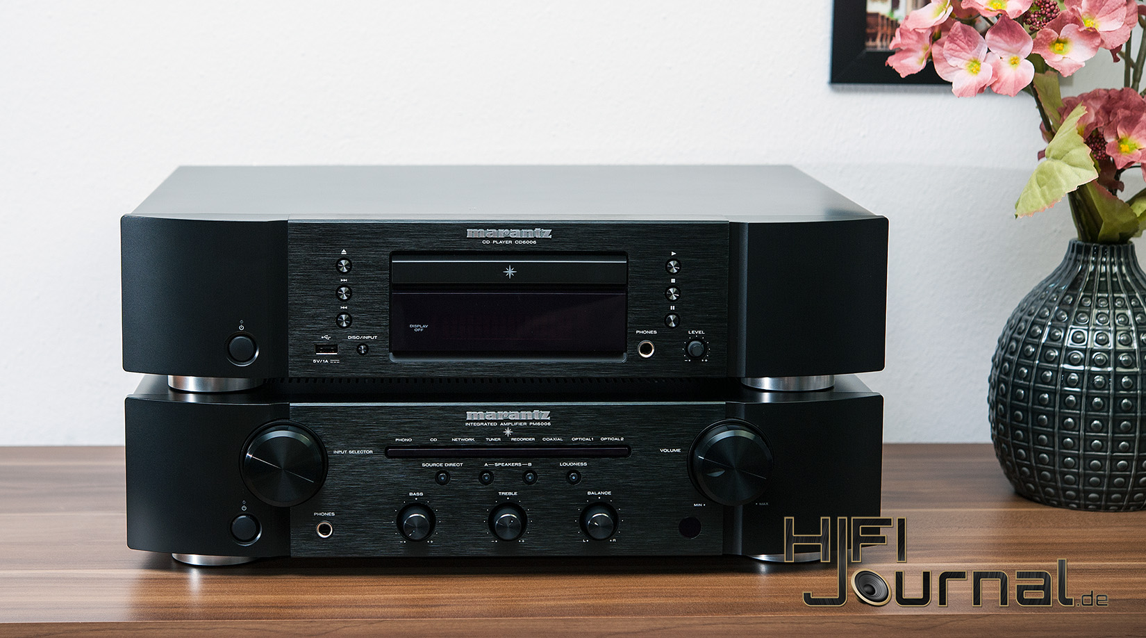 test marantz pm6006 verst rker cd6006 cd player 1 1. Black Bedroom Furniture Sets. Home Design Ideas