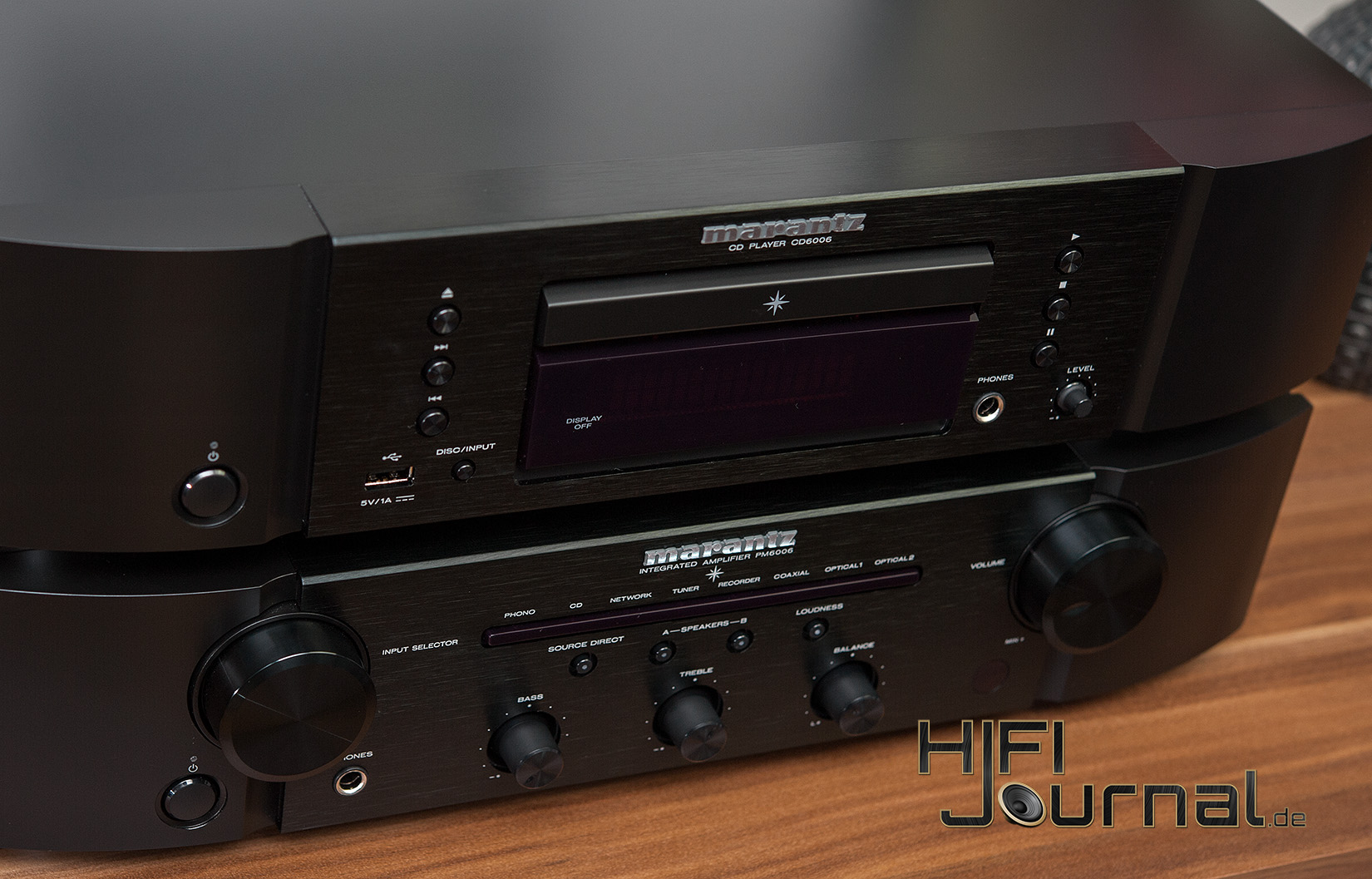 test marantz pm6006 verst rker cd6006 cd player hifi. Black Bedroom Furniture Sets. Home Design Ideas