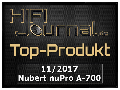 Nubert nuPro A 700 award