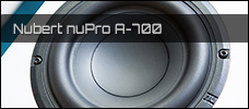 Nubert nuPro A 700 news