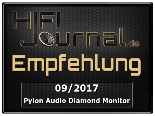 pylon audio diamond monitor award1
