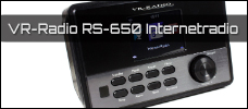 Test: Pearl VR-Radio IRS-650 Internetradio