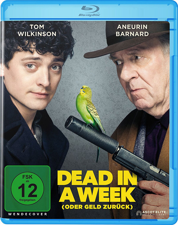 dead in a week blu ray review cover
