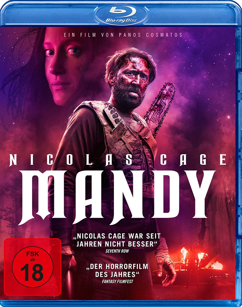mandy blu ray review cover