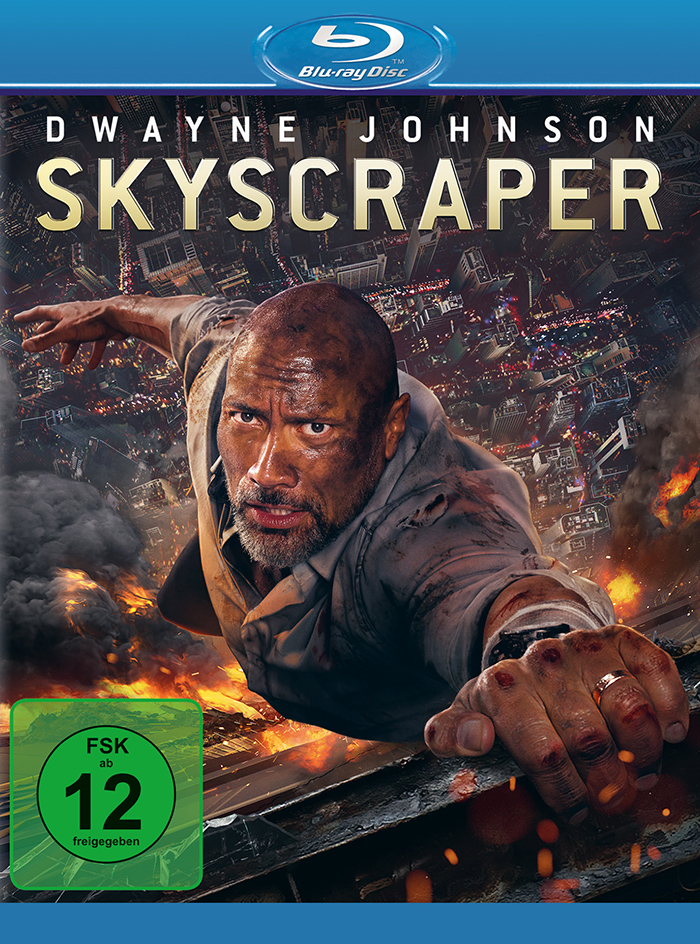skyscraper blu ray review cover