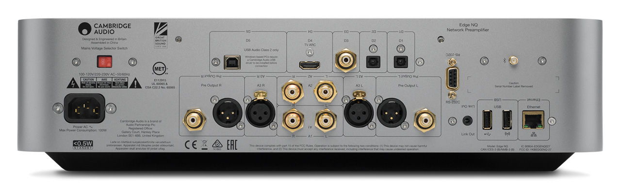 Cambridge Audio Edge NQ 02