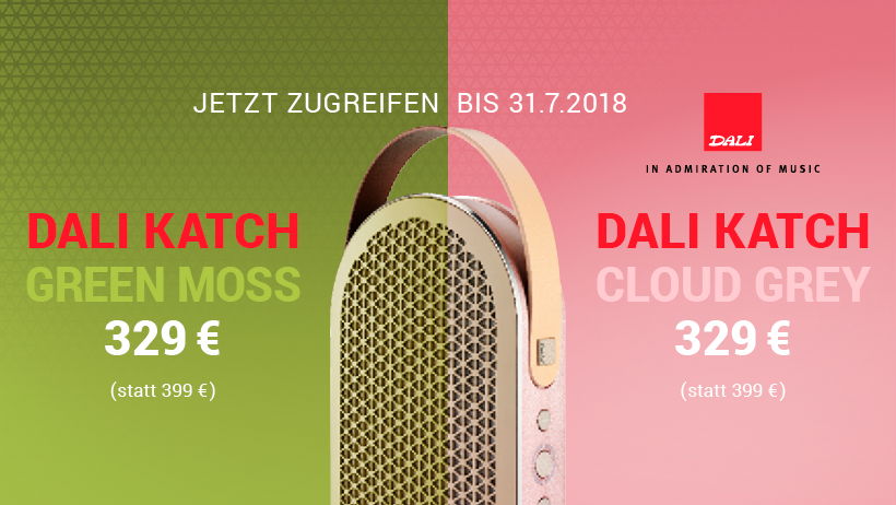 DALI Katch 2018 Sommeraktion