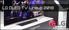 LG OLED TV 2018 - Lineup vorgestellt + Video