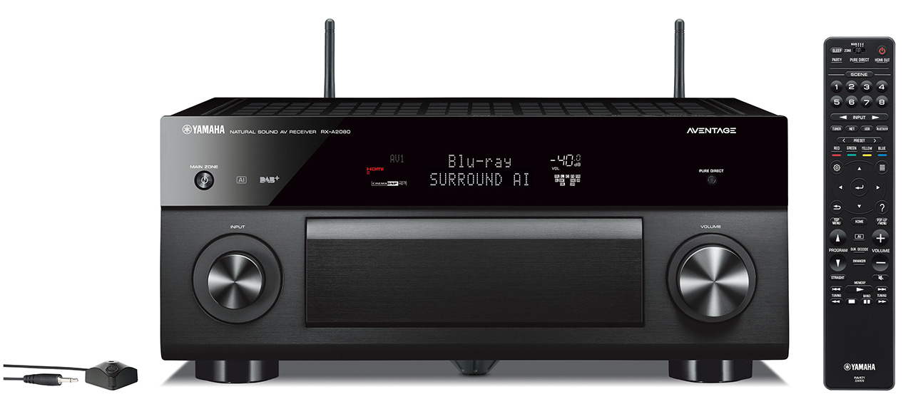 yamaha zeigt rx a1080 rx a2080 und rx a3080 av receiver. Black Bedroom Furniture Sets. Home Design Ideas