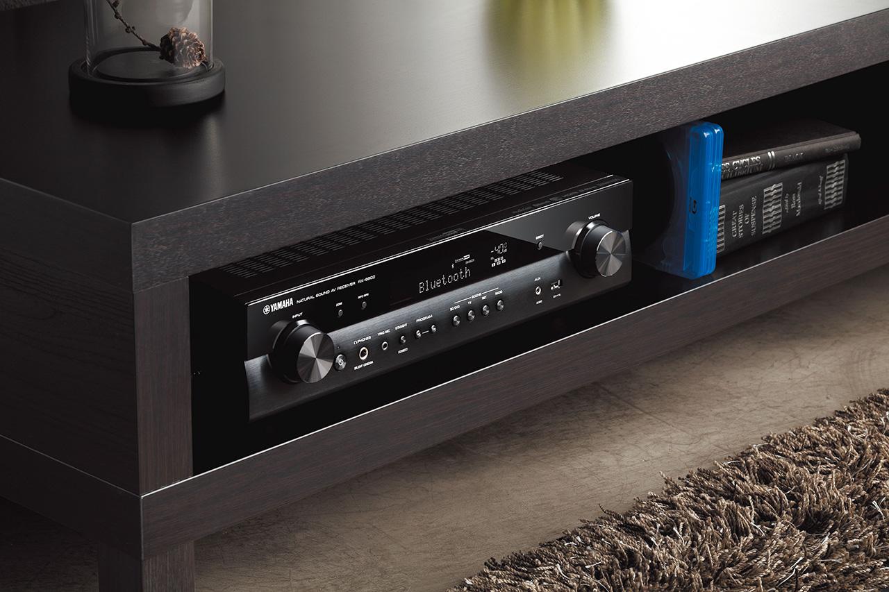 yamaha rx s602 slimline av receiver hifi journal. Black Bedroom Furniture Sets. Home Design Ideas