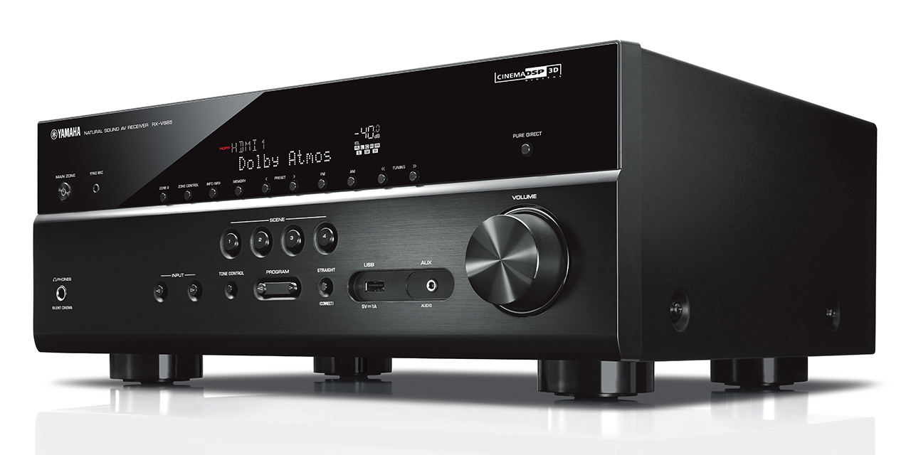 Neuer yamaha rx v685 av receiver hifi journal - Filodiffusione casa wireless ...
