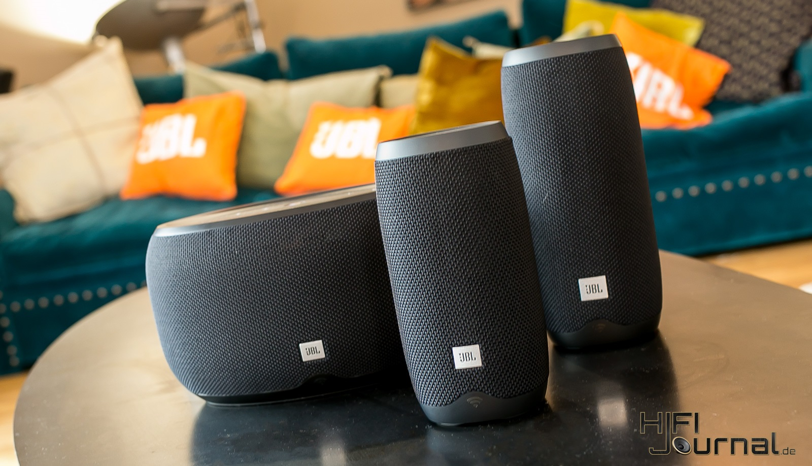 JBL Link Series Smart Speaker 01