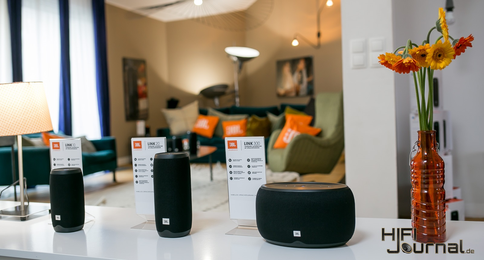 JBL Link Series Smart Speaker 05