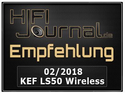 KEF LS50 Wireless Award