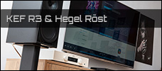 Test: KEF R3 am Hegel Röst