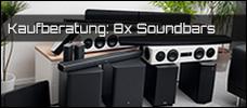 Kaufvorschläge: 8x Soundbars im Vergleich