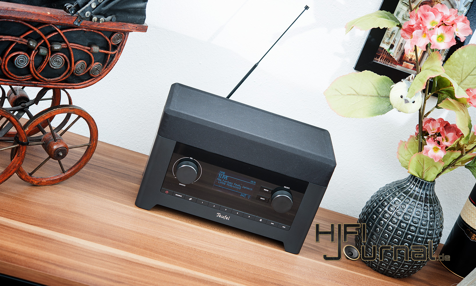 test teufel radio 3sixty hifi journal results from 2. Black Bedroom Furniture Sets. Home Design Ideas