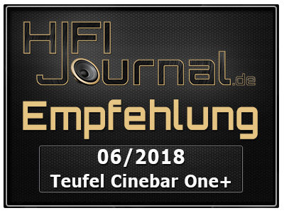 Teufel Cinebar One Plus award