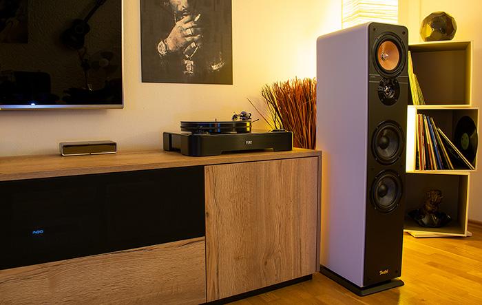test teufel ultima 40 2018 hifi journal. Black Bedroom Furniture Sets. Home Design Ideas