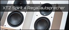 Test: XTZ Spirit 4 Regallautsprecher