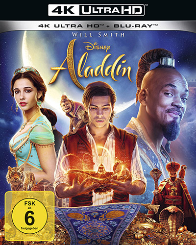 aladdin 2019 live action 4k uhd blu ray review cover