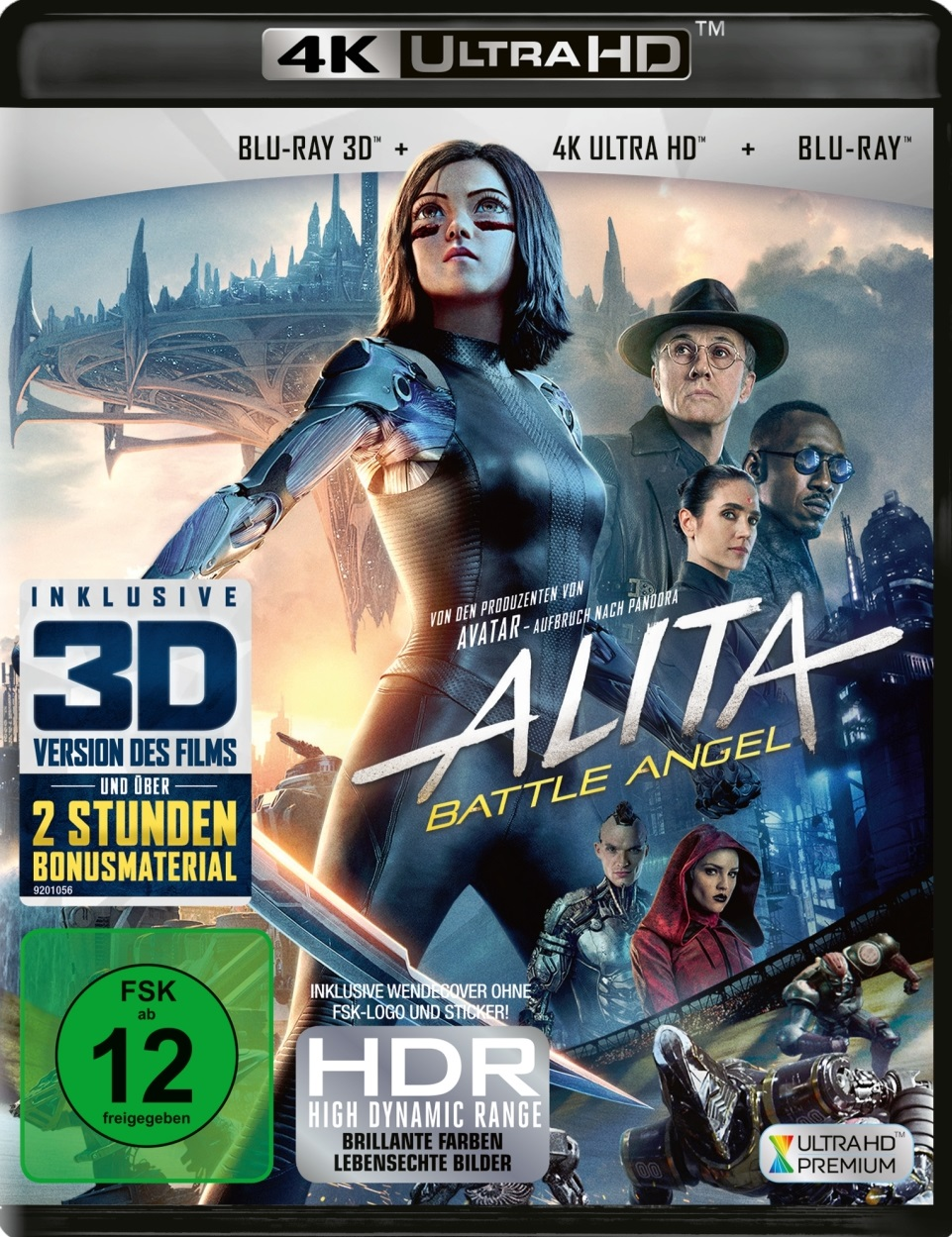 alita battle angel 4k uhd blu ray review cover