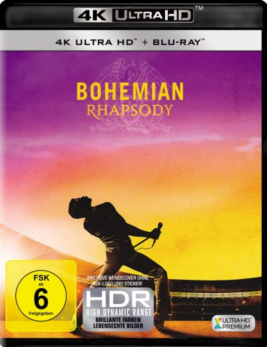 bohemian rhapsody 4k uhd blu ray review cover