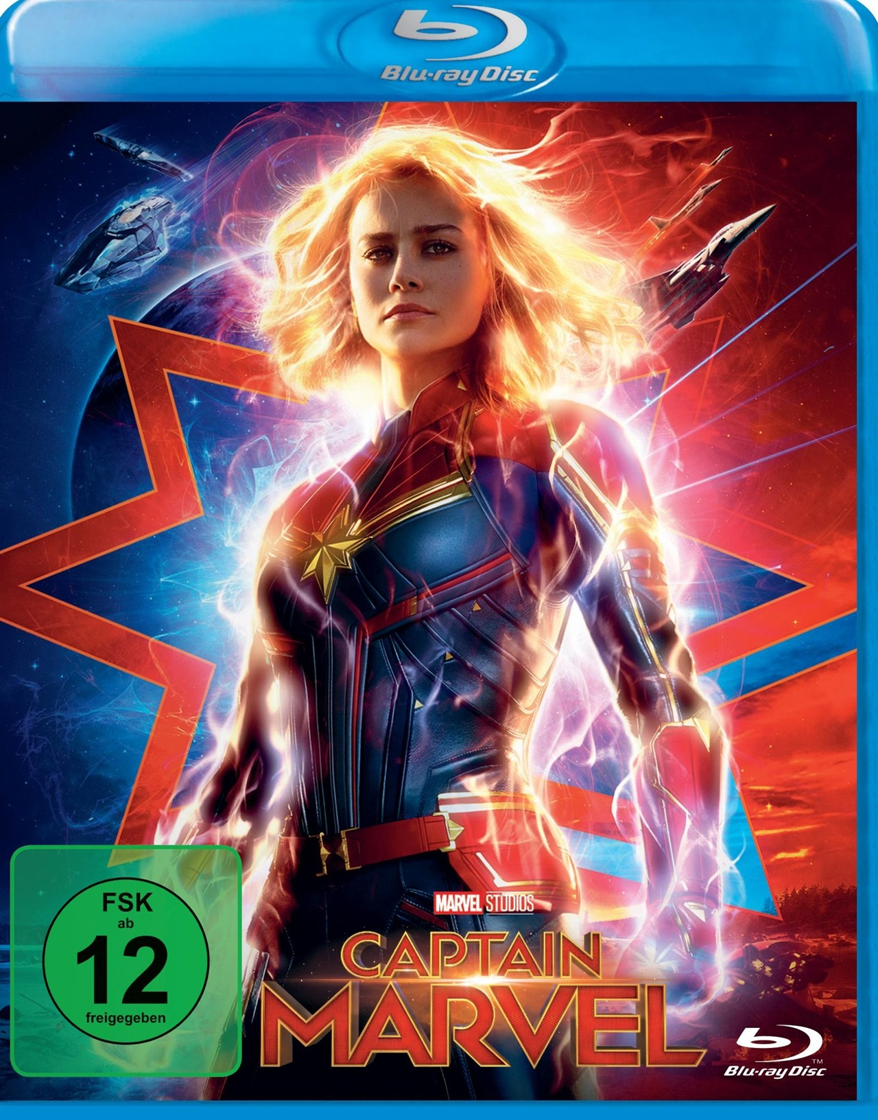 captain marvel blu ray review cover