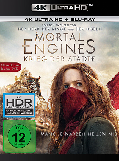 mortal engines krieg der staedte 4k uhd blu ray review cover