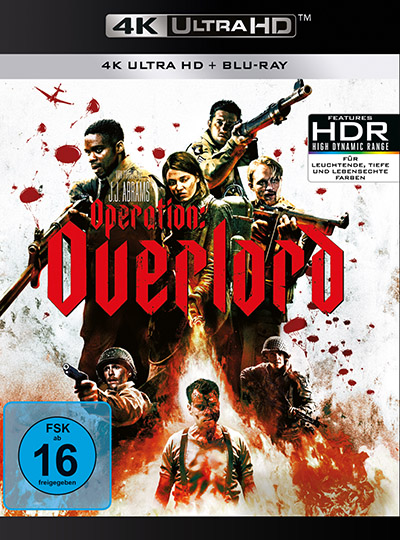 operation overlord 4k uhd blu ray review cover