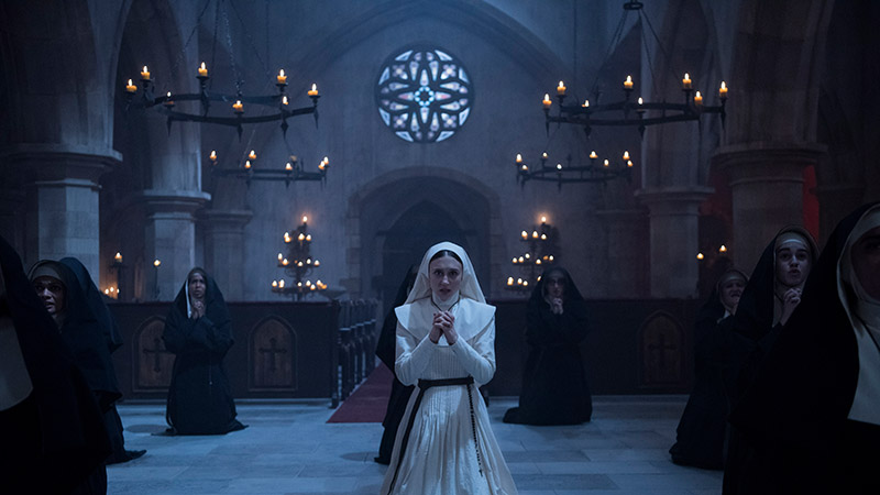 the nun 4k uhd blu ray review szene