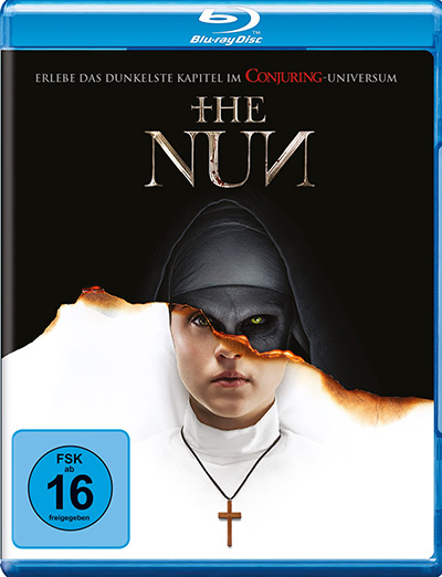 the nun blu ray review cover