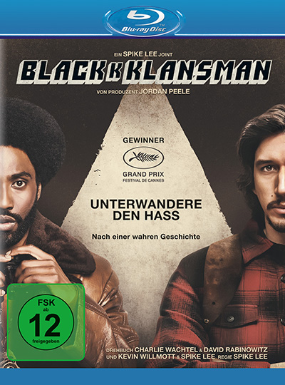 blackkklansman blu ray review cover