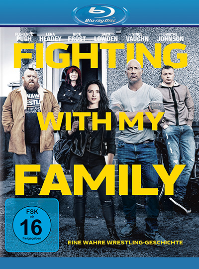 fighting with my family blu ray review cover